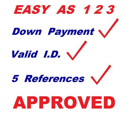 BUY HERE PAY HERE-IN HOUSE FINANCE-NO
